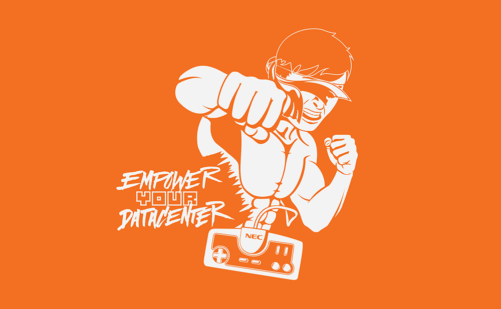 Final Empower Your Datacenter T-Shirt Design Based on Fighting Street